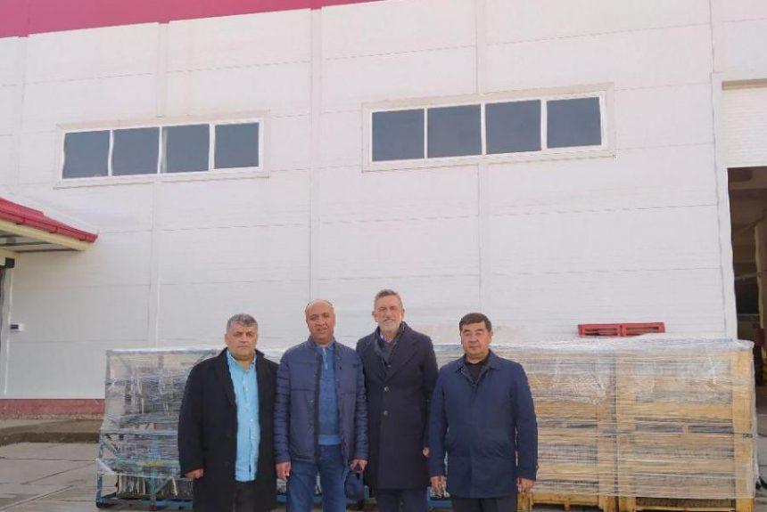 Группа турецких инвесторов в СЭЗ Ургут
