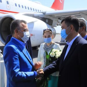 Турецкая делегация посетила Самарканд